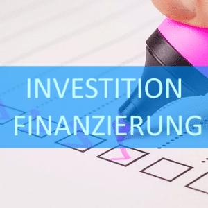 Checkliste Investitionen und Finanzierung