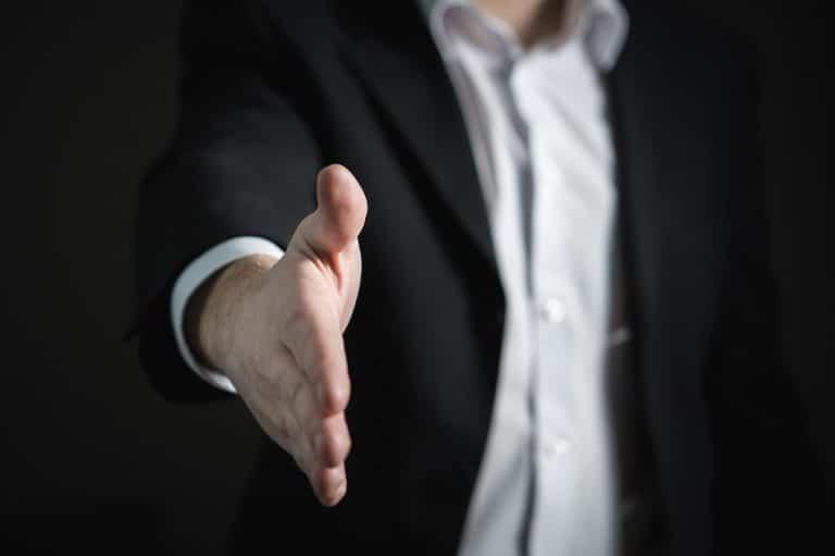 Handschlag Vertrauen