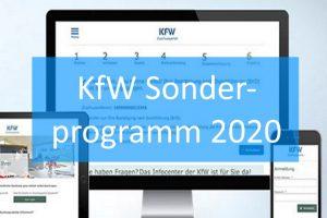 KfW-Sonderprogramm 2020
