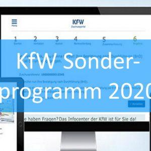 Vorlage Geschäftsplan Corona KfW Sonderprogramm